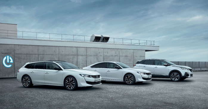 All-new plug- in hybrid EV's: Peugeot 508 Hybrid and 508 SW Hybrid