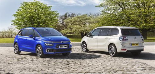Citroën C4 SpaceTourer and Grand C4 SpaceTourer Now on Sale in the UK