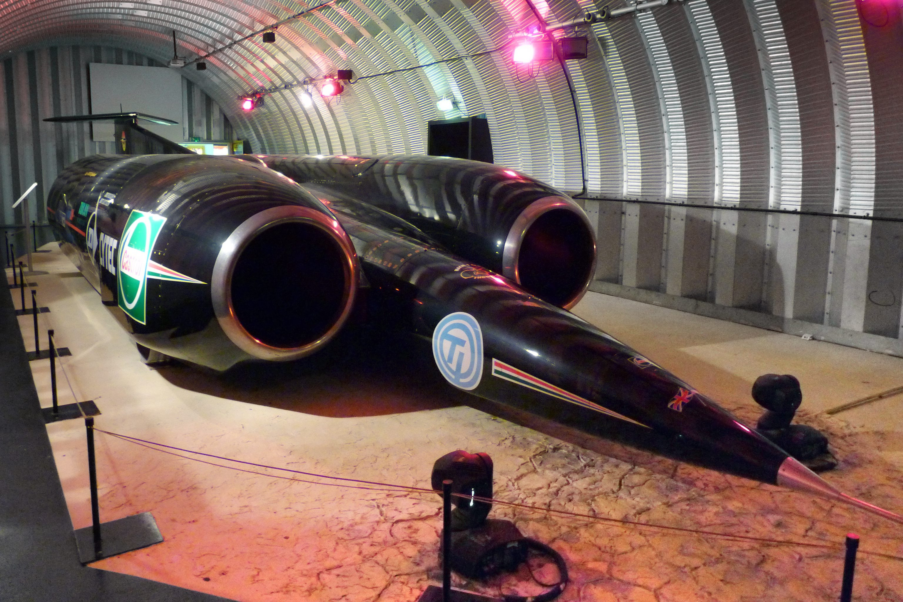 Thrust SSC land speed record breaking car