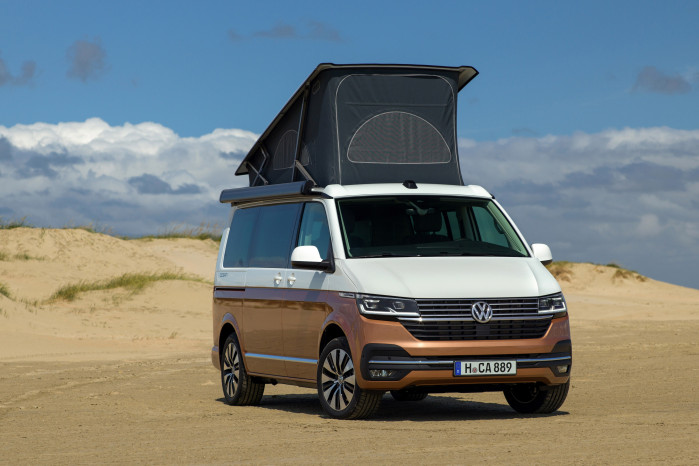New Volkswagen California T6.1 unveiled