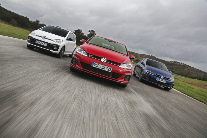 Up!, Polo & Golf - Volkswagen GTI family put to the test