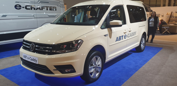 CV Show 2019 - Volkswagen Commercial Vehicles e-Range