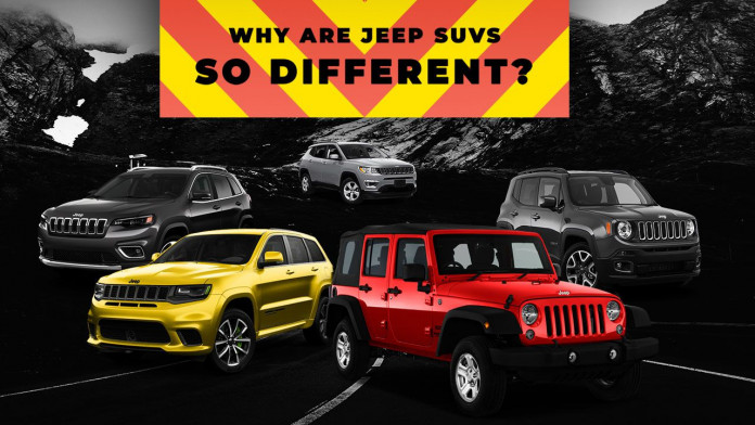 Why Are Jeep SUVs So Different?