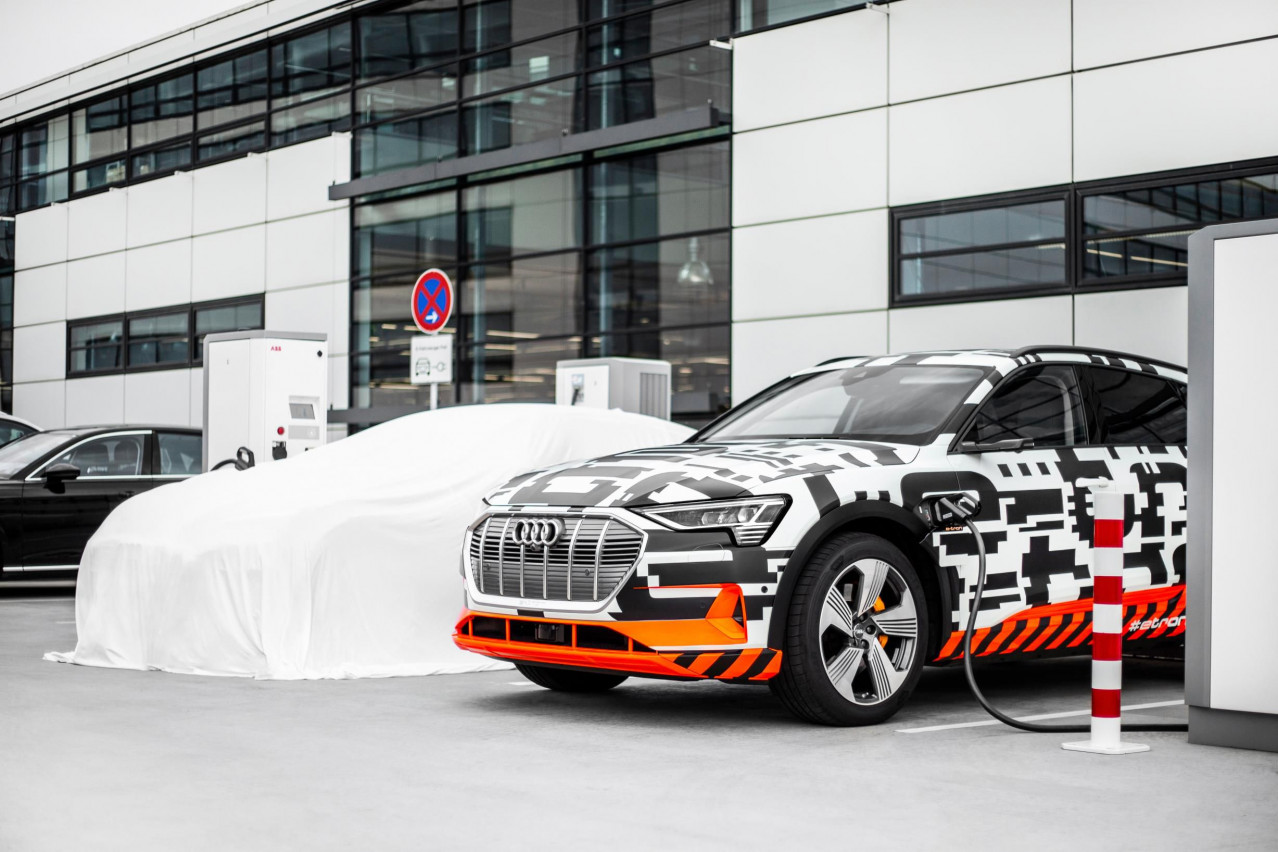 Audi Simplifies Electric Vehicle Charging