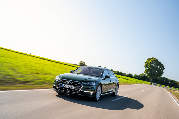 Luxury meets efficiency - The Audi A8 L TFSI E