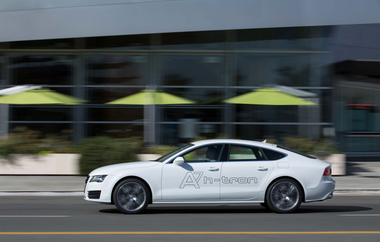 A7 Sportback H-Tron Quattro Showcases Audi Fuel Cell Technology Expertise At LA Auto Show