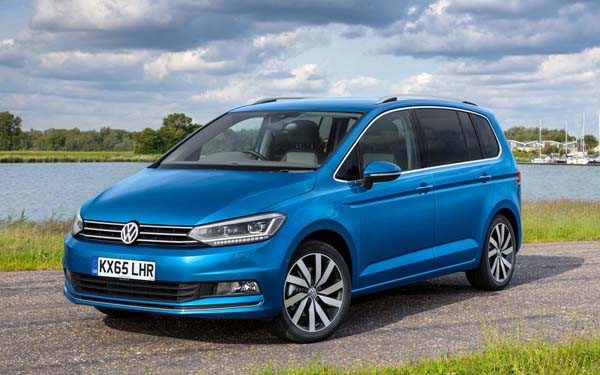 Volkswagen Touran in Blue