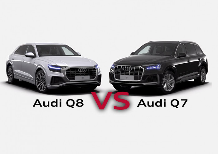 Audi Q7 vs Audi Q8. What's the difference?