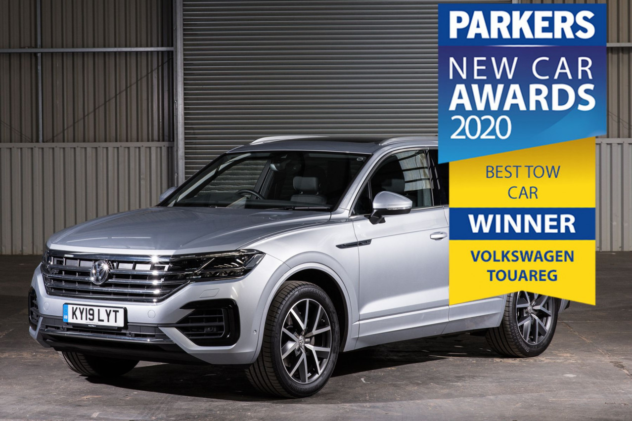 Volkswagen Touareg Parker Tow car award joins growing list of towing triumphs