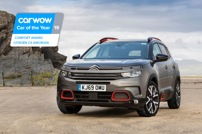"Citroën wins second consecutive 'comfort award"" At annual Carwow Car of the year awards"