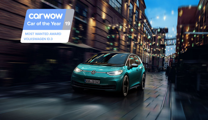 Volkswagen ID.3 Scoops Carwow's most wanted award at 2019 ceremony