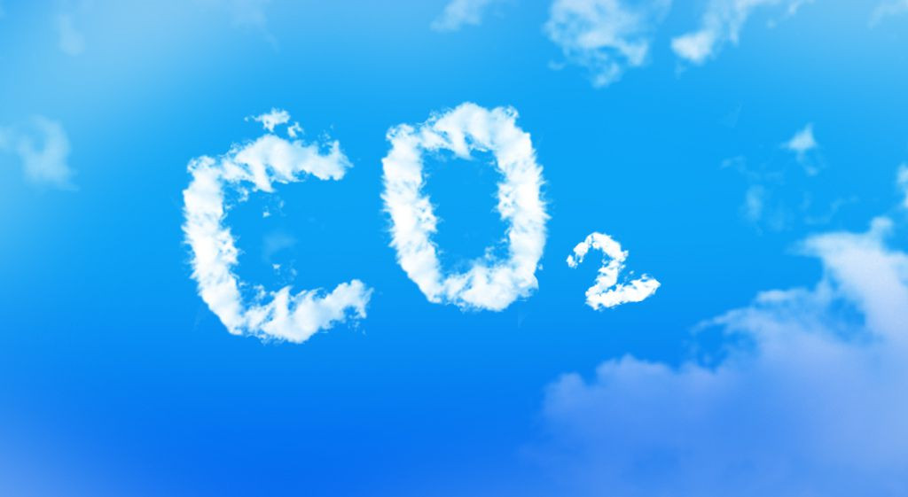CO2 made out of clouds in the sky