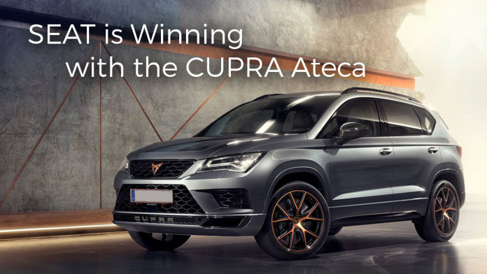 SEAT is Winning with the CUPRA Ateca