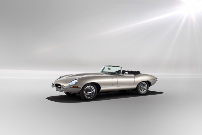 All-Electric E-Type Jag Goes Into Production