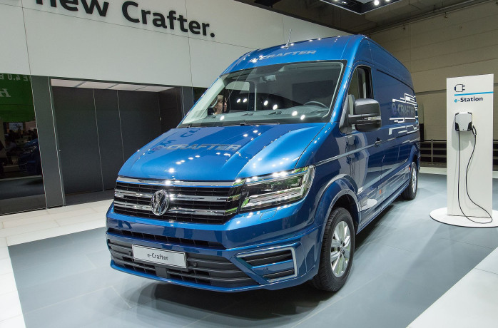 The E-Crafter, VW's First All Electric Van