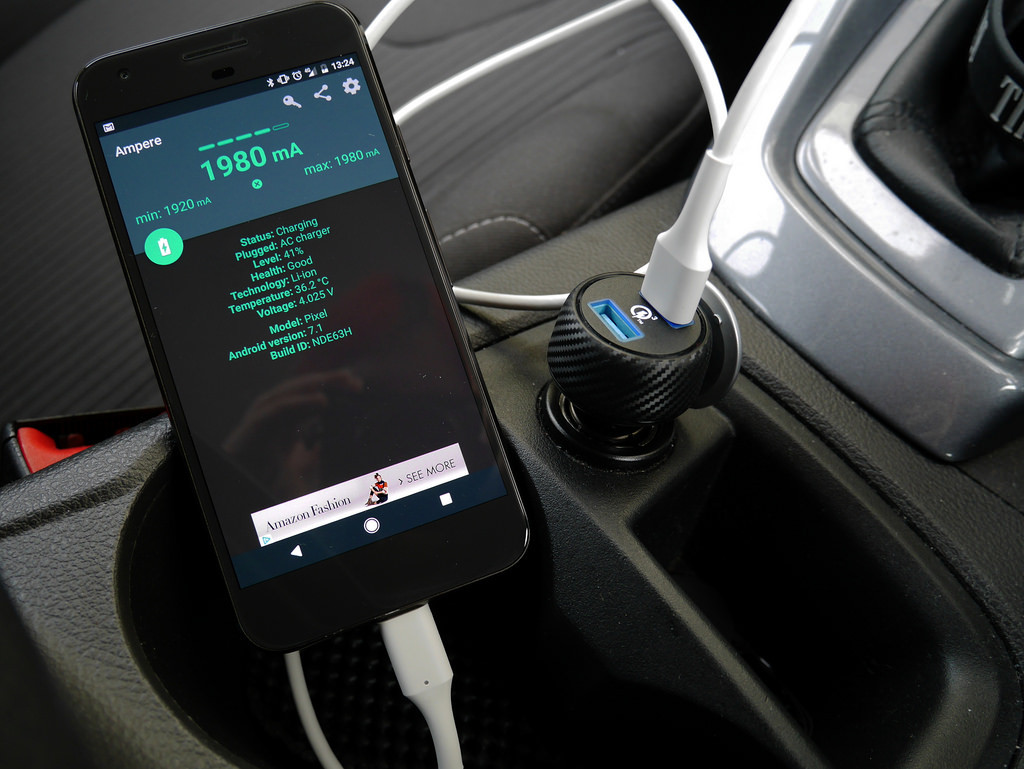 In-car charger
