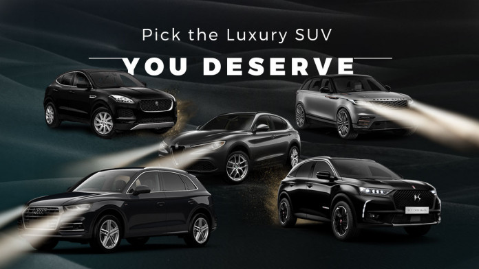 Pick the Luxury SUV You Deserve