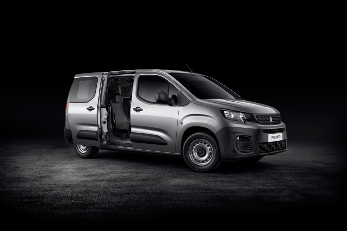 Peugeot launches All-New Partner Crew Van
