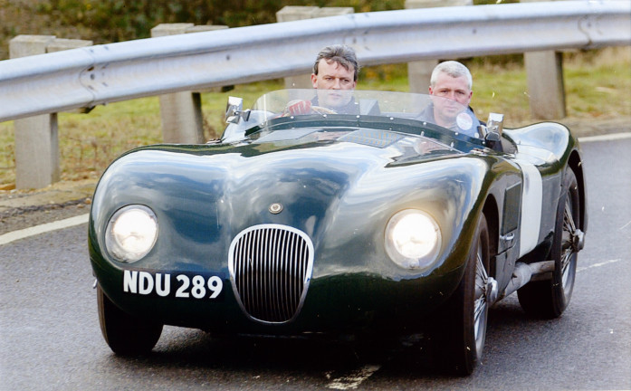 Homage to the Jaguar C-Type