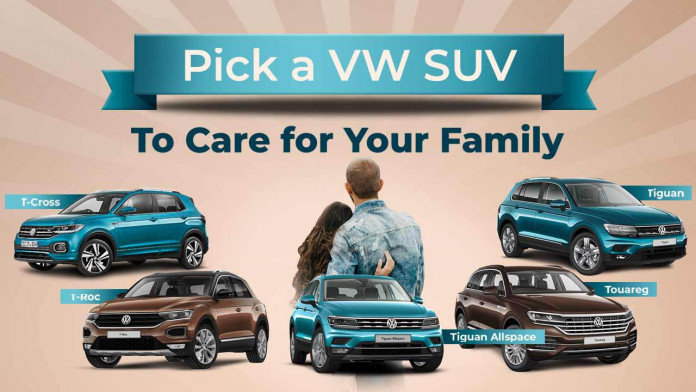 Pick a VW SUV to Care for Your Family