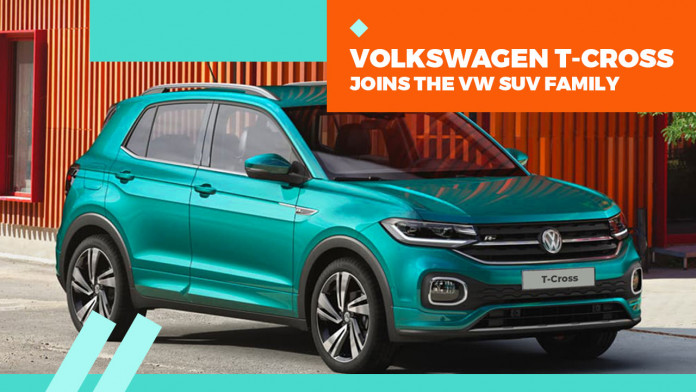 Volkswagen T-Cross Joins the VW SUV Family