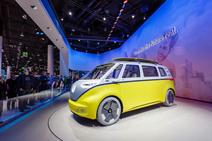 Volkswagen's I.D. Buzz Electric Concept Campervan