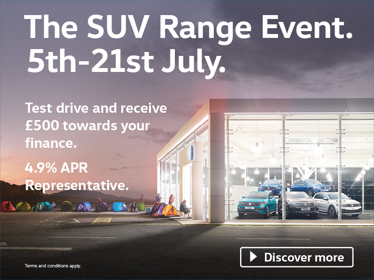 The Volkswagen SUV Event | Running from 5th - 21st July